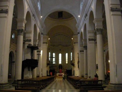Interno del Duomo di Faenza