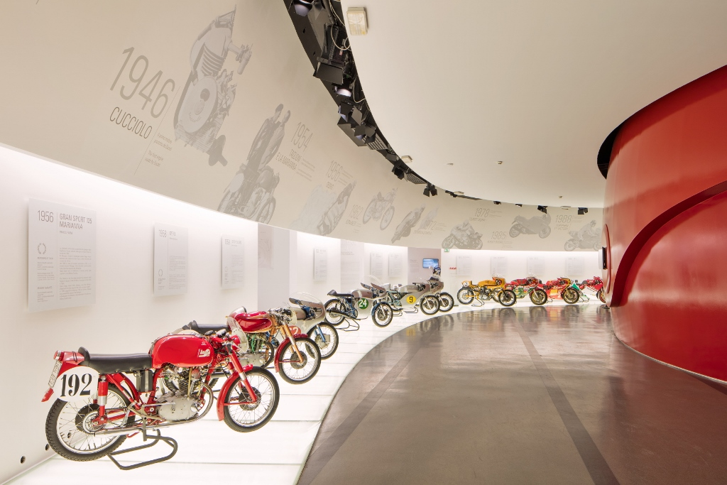 Museo Ducati - Racing Room