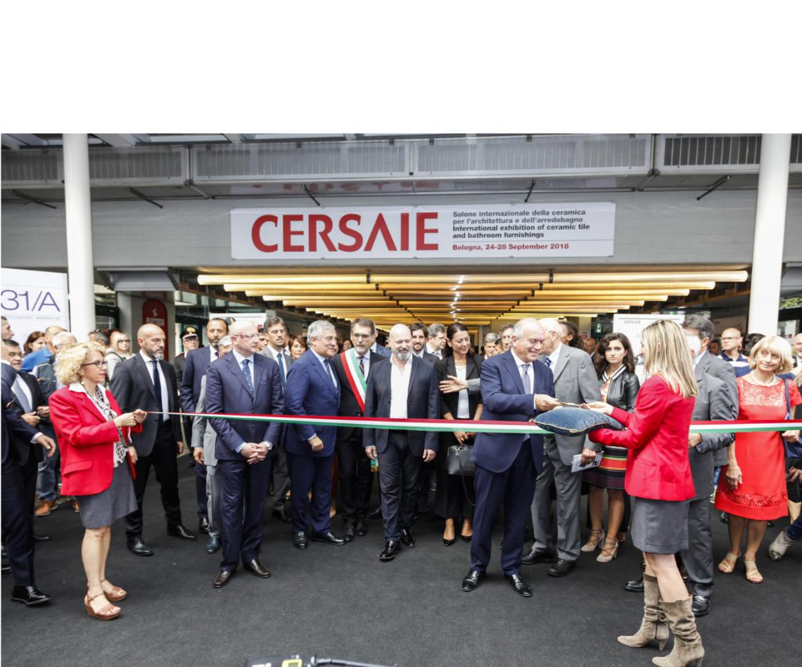 Inaugurazione Cersaie 2018